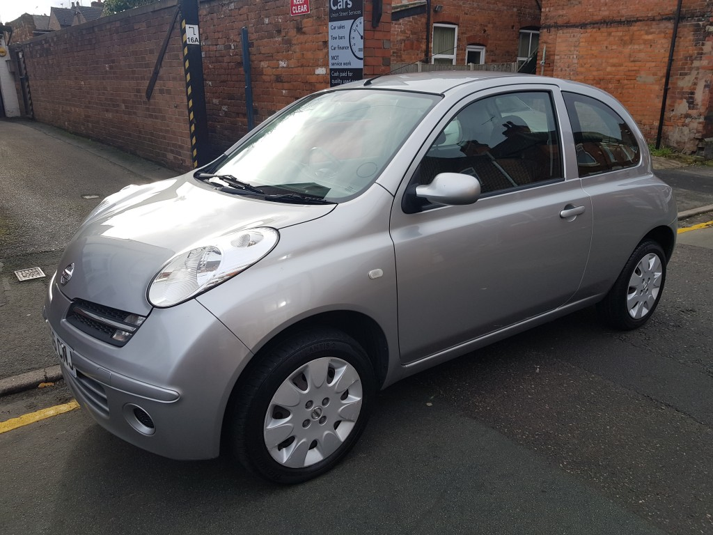 nissan micra 1 2 spirita 3dr for sale in crewe streetcars of crewe. Black Bedroom Furniture Sets. Home Design Ideas