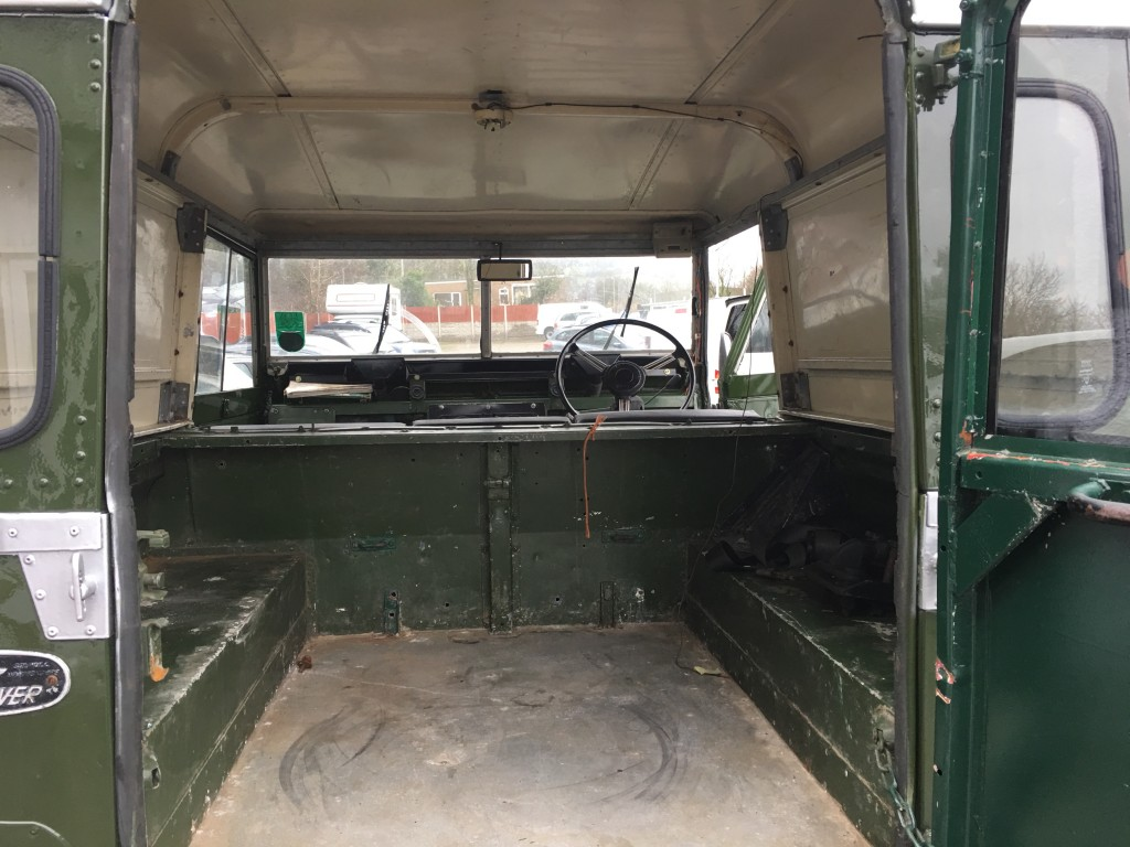 LAND ROVER 88 4 CYL Diesel Classic