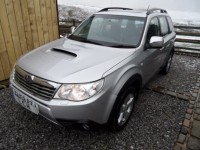 SUBARU FORESTER 4WD 2.0 D XSN TOP SPEC SAT NAV LEATHER ELECTRIC HEATED SEATS  CRUISE AND CLIMATE CONTROL PAN SUNROO