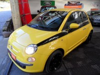 FIAT 500 1.2 SPORT 3 DOOR HATCH HALF LEATHER  AIR CONDITIONING BLACK ALLOYS CD RADIO BLUETOOTH aa approved