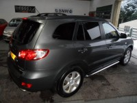 HYUNDAI SANTA FE 2.2 CDX CRTD 5 DOOR 2.2 DIESEL 4WD FULL LEATHER CRUISE CLIMATE ALLOYS PRIVACY GLASS ROOF RAILS