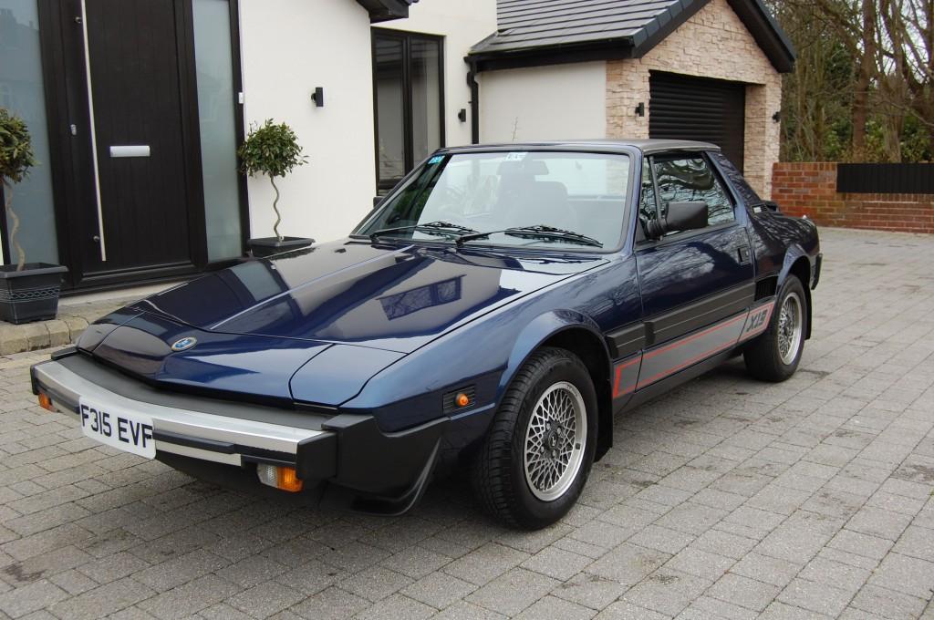 FIAT X1/9 1.5 1500 2DR