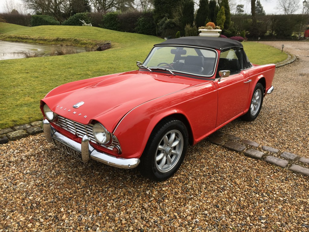 Triumph Tr4 Tr4 For Sale In Knutsford T R Bitz 2018