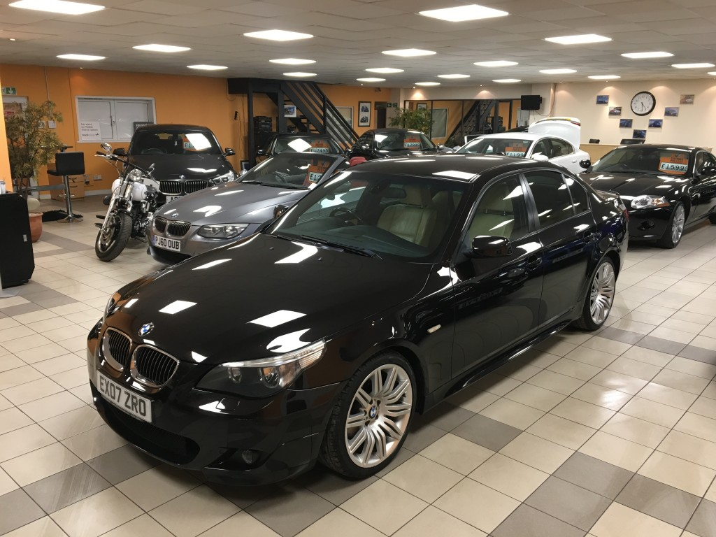 BMW 5 SERIES 3.0 530D M SPORT 4DR AUTOMATIC