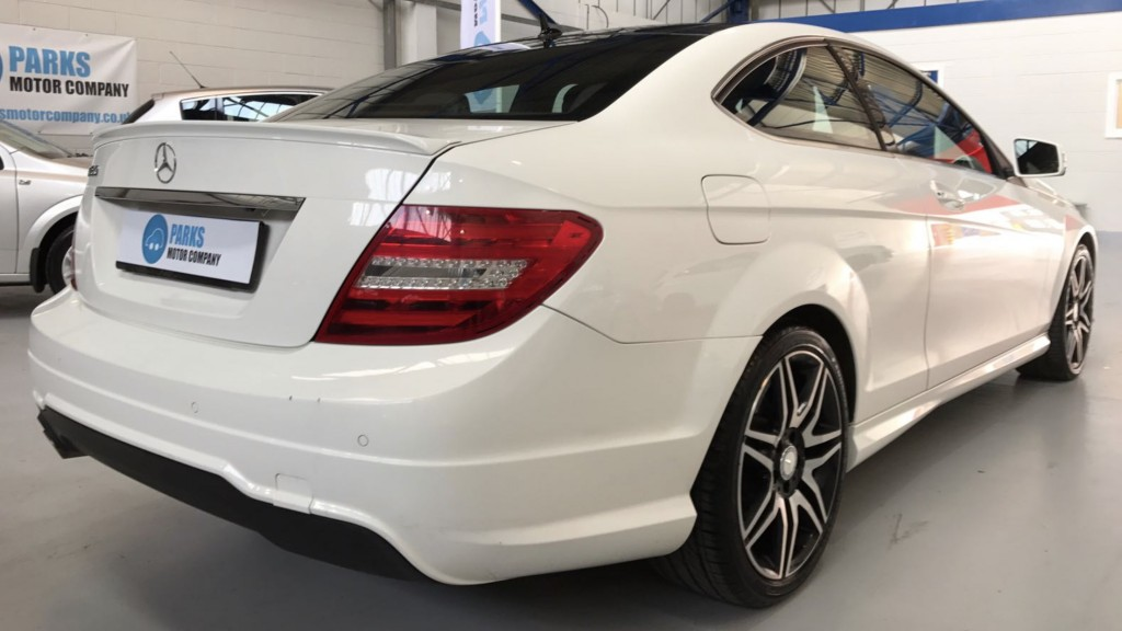 MERCEDES-BENZ C-CLASS 1.6 C180 BLUEEFFICIENCY AMG SPORT PLUS 2DR AUTOMATIC