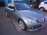 MERCEDES-BENZ C-CLASS 2.1 C200 CDI BLUEEFFICIENCY SPORT 4DR AUTOMATIC