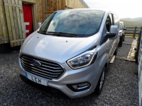 FORD TRANSIT CUSTOM 2.0 320 ZETEC KOMBI L2 9 SEATER  TOURNEO DELIVERY MILEAGE LEASE DEALS AVAILABLE