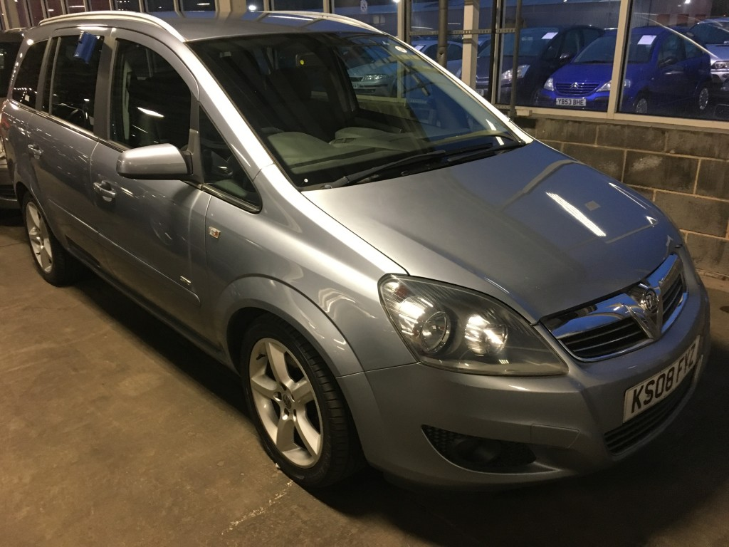 VAUXHALL ZAFIRA 1.9 SRI CDTI 5DR For Sale in Burnley - Reedley Car on