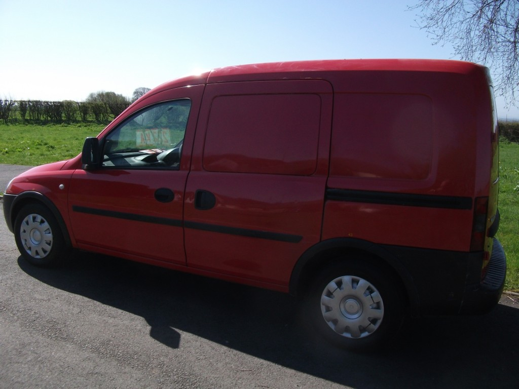 VAUXHALL COMBO DIESEL CAR DERIVED VAN 1.2 1700 CDTI