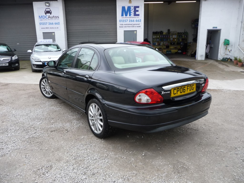 JAGUAR X-TYPE 2.2 S 4DR