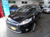 FORD FIESTA 1.4 TITANIUM a/c 1.4  TDCI 5DR FSH CRUISE ALLOYS PRIVACY CD RADIO USB IPOD AUX AA APPROVED DEALER