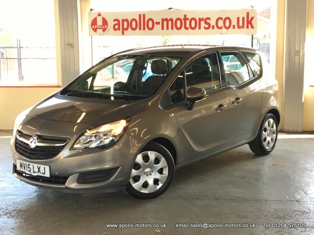 VAUXHALL MERIVA 1.4 EXCLUSIV AC 5DR AUTOMATIC