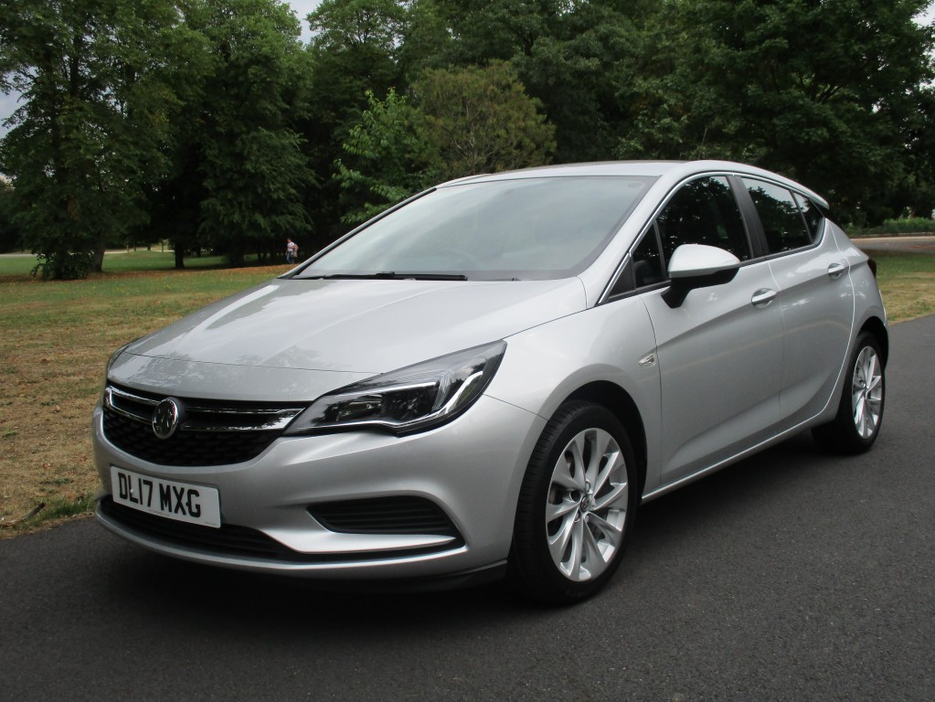 VAUXHALL ASTRA 1.4 DESIGN S/S 5DR AUTOMATIC