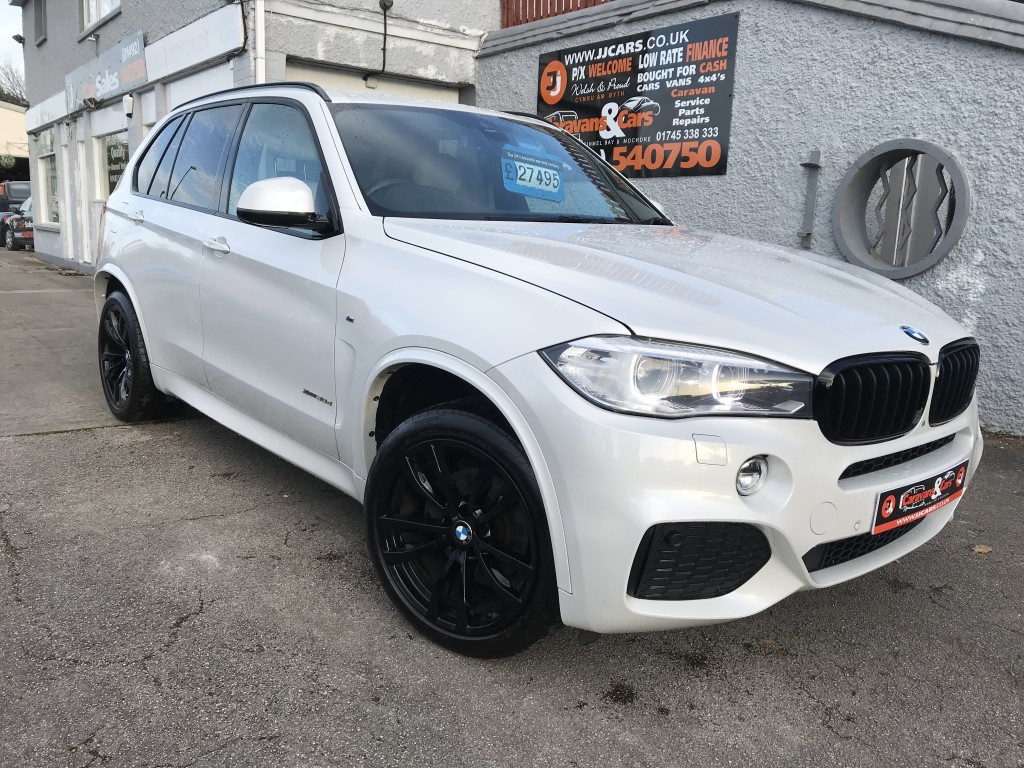 BMW X5 3.0 XDRIVE30D M SPORT 5DR AUTOMATIC  PX welcome