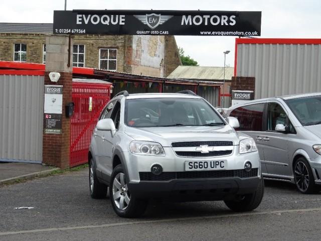 Chevrolet Captiva 20 Lt Vcdi 5dr For Sale In Blackburn Evoque Motors
