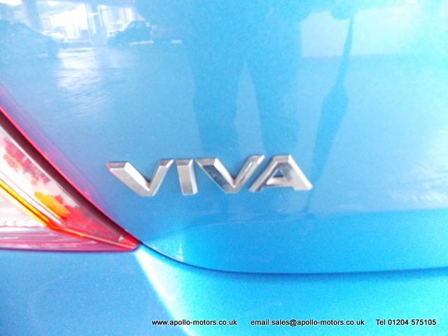 VAUXHALL VIVA 1.0 SL 5DR