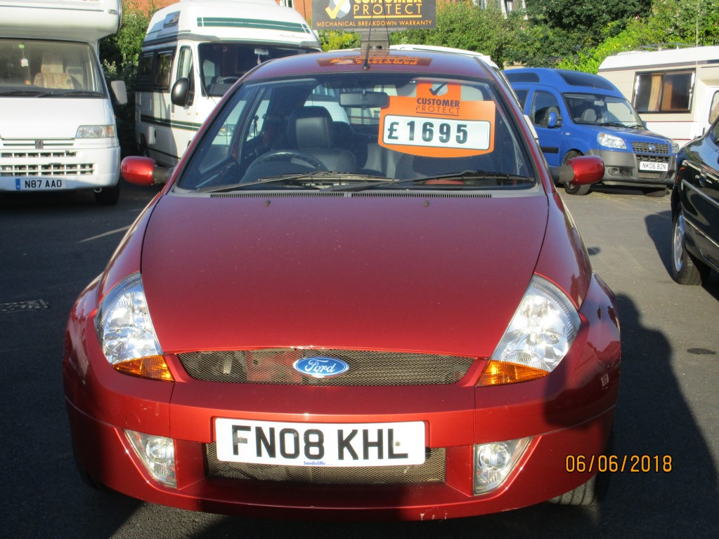 FORD KA 1.6 SPORTKA SE LEATHER 3DR
