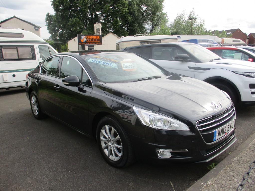 PEUGEOT 508 1 6 HDI SR 4DR For Sale in Chester - Mill Car Sales