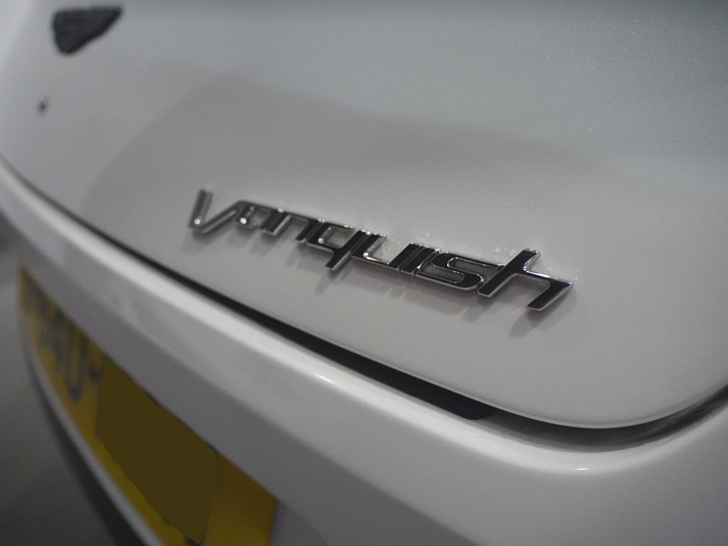 ASTON MARTIN VANQUISH 5.9 V12 2DR AUTOMATIC