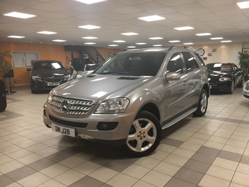 MERCEDES-BENZ M-CLASS 3.0 ML320 CDI SPORT 5DR AUTOMATIC
