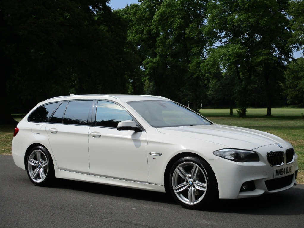 BMW 5 SERIES 2.0 520D M SPORT TOURING 5DR AUTOMATIC