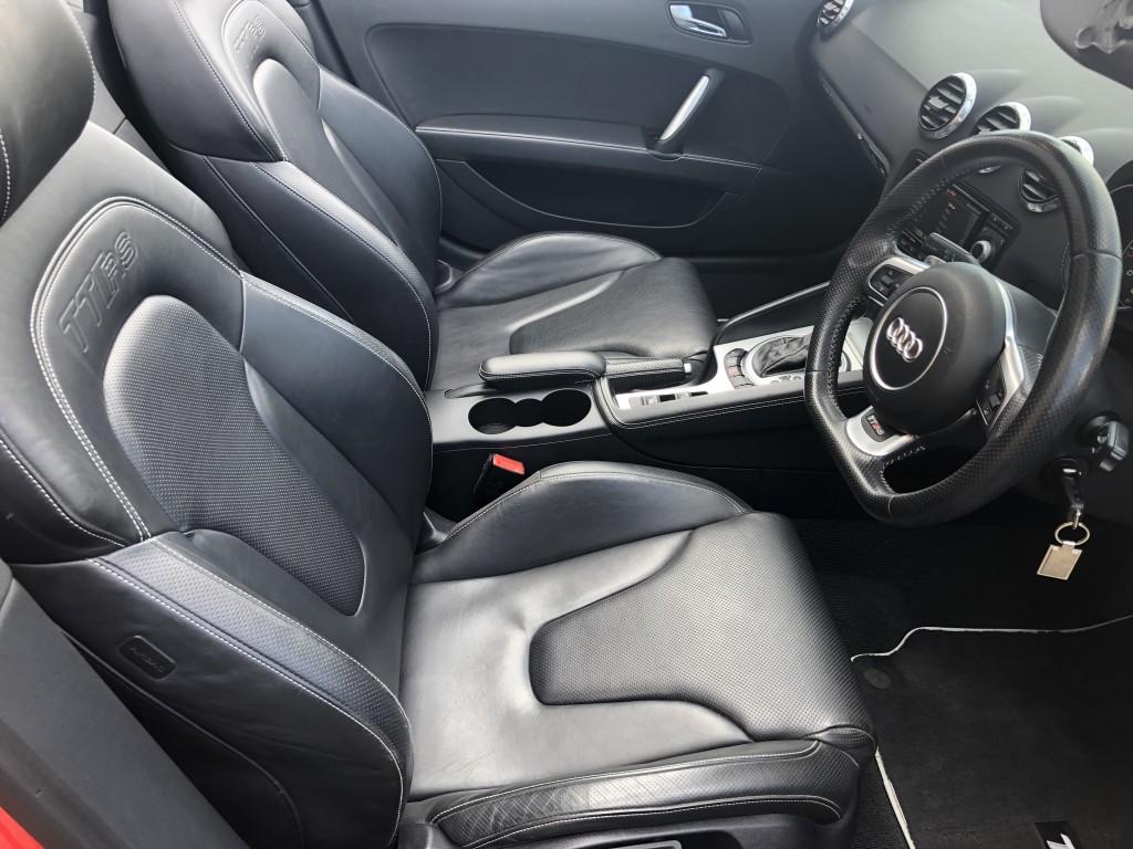 AUDI TT 2.5 RS PLUS TFSI QUATTRO 2DR SEMI AUTOMATIC