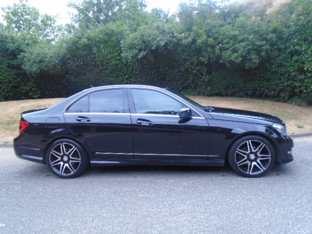 MERCEDES-BENZ C-CLASS 1.6 C180 BLUEEFFICIENCY AMG SPORT PLUS 4DR AUTOMATIC
