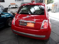 FIAT 500 1.2 LOUNGE 3DR HATCHBACK A- C ALLOYS PAN GLASS ROOF 2013 RED AA APPROVED DEALER