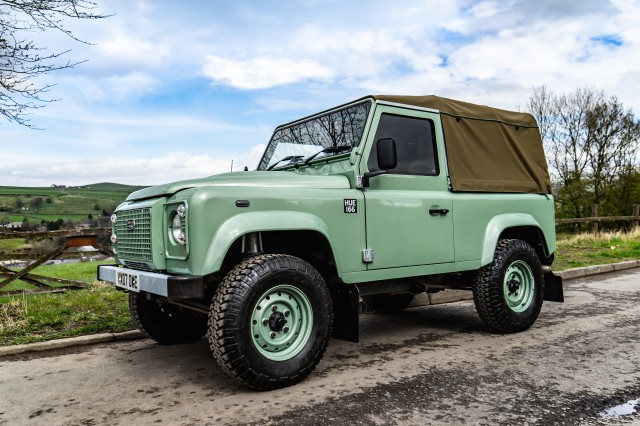 Used LAND ROVER DEFENDER 2.4 90 SWB in Lancashire