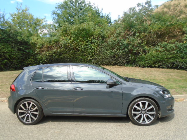 VOLKSWAGEN GOLF 2.0 GT TDI BLUEMOTION TECHNOLOGY DSG 5DR SEMI AUTOMATIC