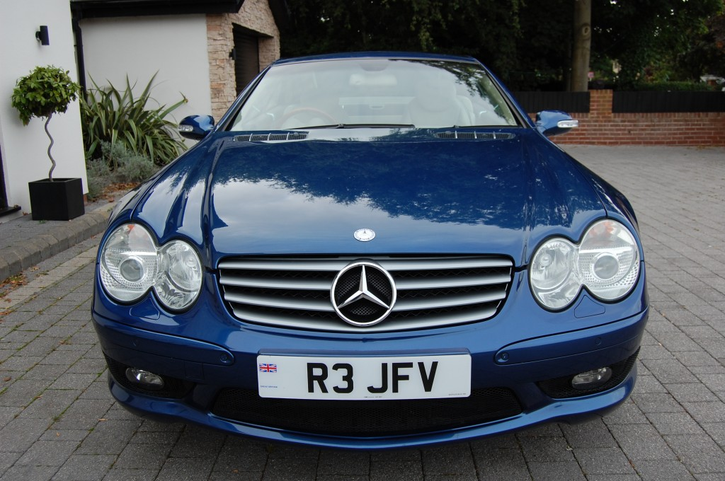 MERCEDES-BENZ SL 5.0 SL500 2DR AUTOMATIC
