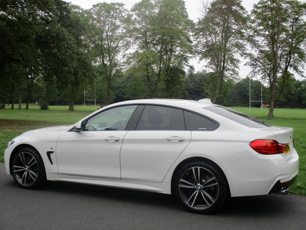 BMW 4 SERIES 3.0 435D XDRIVE M SPORT GRAN COUPE 4DR AUTOMATIC