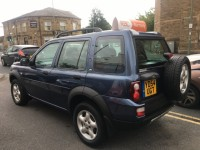LAND ROVER FREELANDER 2.0 TD4 SE STATION WAGON 5DR