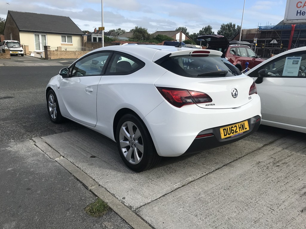VAUXHALL ASTRA 1.7 GTC SPORT CDTI S/S 3DR