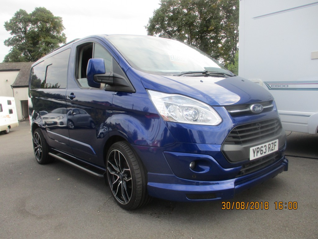 FORD TRANSIT CUSTOM 2.2 270 LIMITED LR P/V