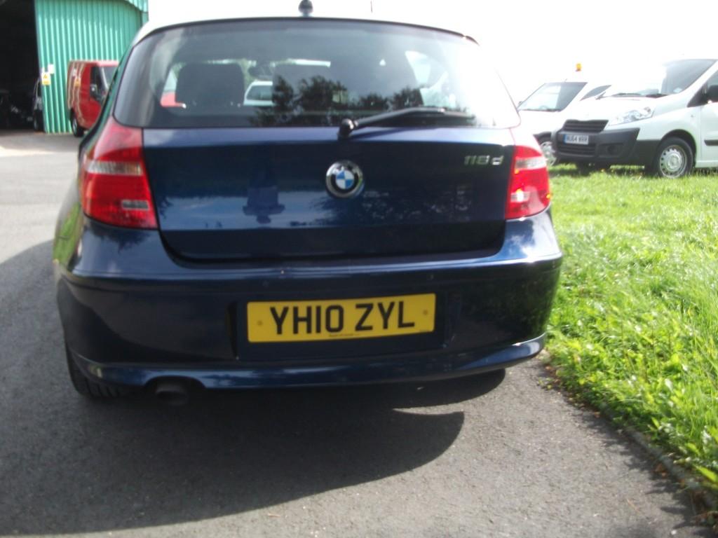 BMW 1 SERIES DIESEL HATCHBACK 2.0 118D SE 5DR