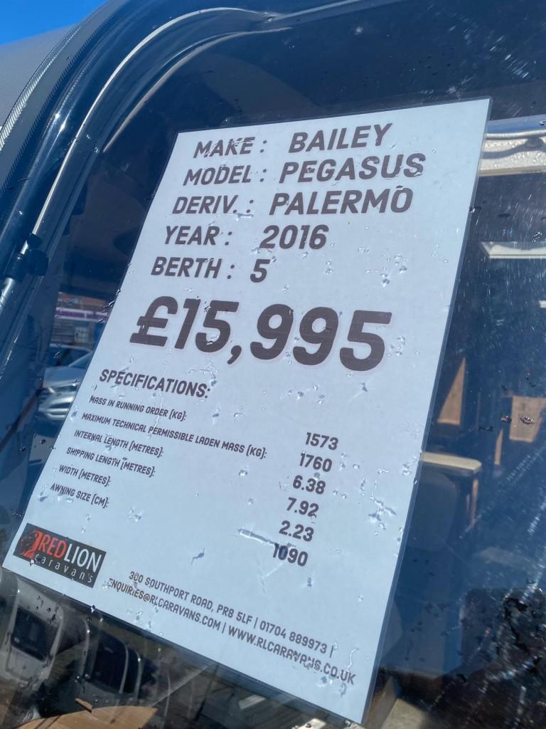 BAILEY PEGASUS PALERMO