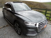 AUDI SQ5 3.0 TFSI 4WD QUATTRO AUTO LOW MILES QUILTED LEATHER GLASS ROOF 21 V SPOKE ALLOYS VERTUAL DASH