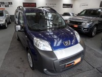 PEUGEOT BIPPER 1248cc HDI TEPEE OUTDOOR 5DR MPV DIESEL AIR CONDITIONING CD RADIO METALLIC BLUE FSH AA APPROVED