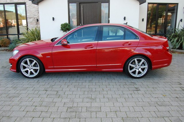 MERCEDES-BENZ C-CLASS 2.1 C250 CDI BLUEEFFICIENCY SPORT 4DR AUTOMATIC