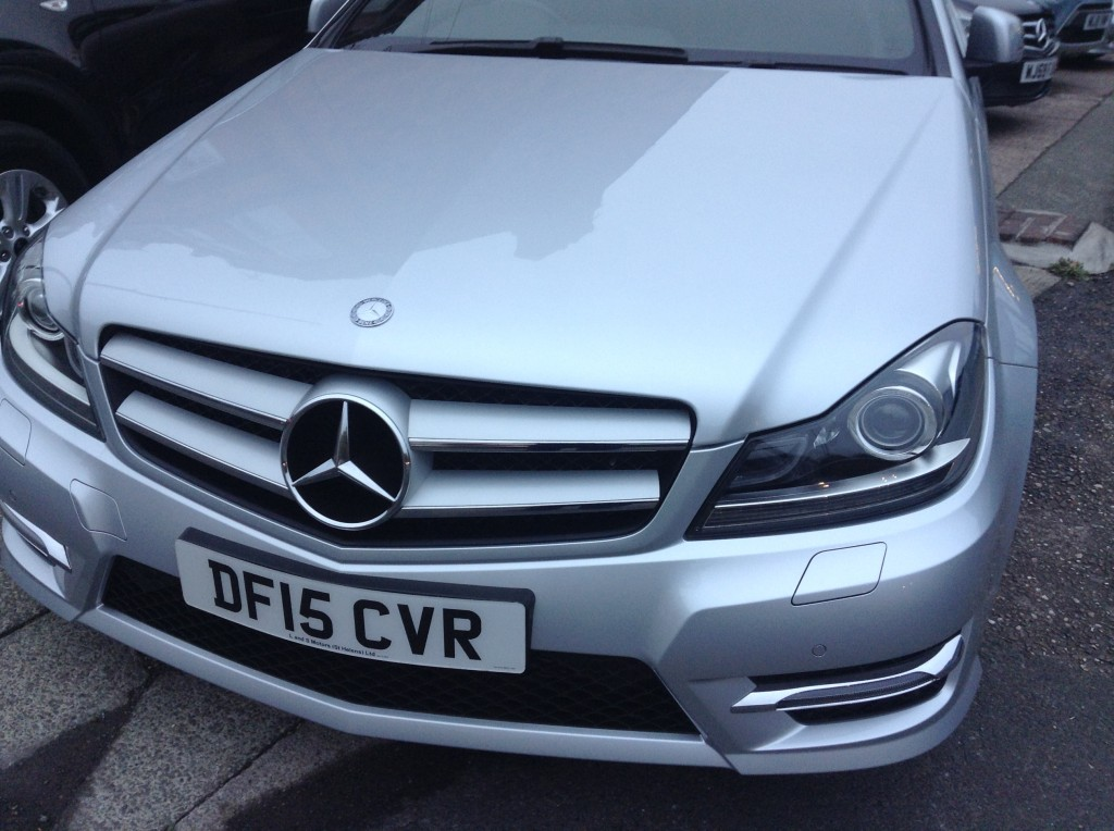 MERCEDES-BENZ C-CLASS 2.1 C220 CDI AMG SPORT EDITION 2DR AUTOMATIC