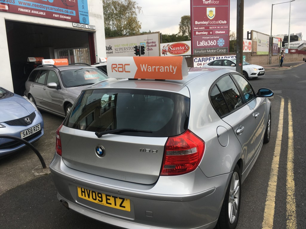 BMW 1 SERIES 2.0 118D SE 5DR AUTOMATIC