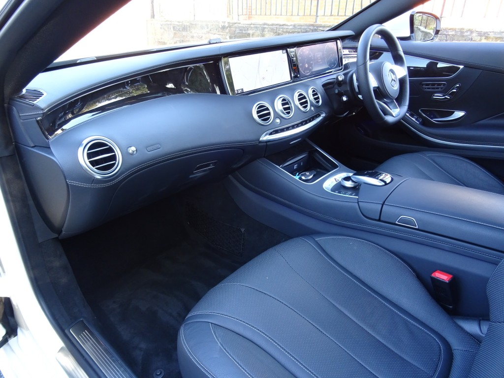 MERCEDES-BENZ S-CLASS 4.7 S500 AMG LINE 2DR AUTOMATIC