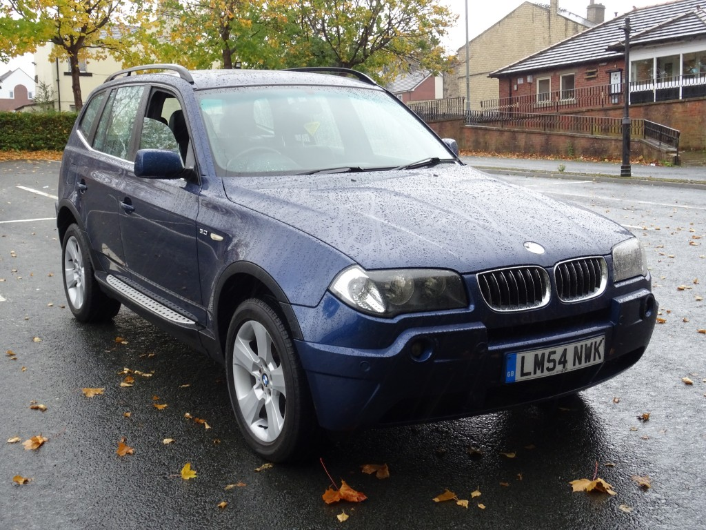 BMW X3 3.0 SE 5DR AUTOMATIC