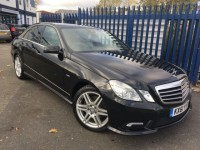 MERCEDES-BENZ E-CLASS 3.0 E350 CDI BLUEEFFICIENCY SPORT ED125 4DR AUTOMATIC