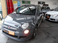 FIAT 500 1.2 S 3 DOOR HATCH S 500 A/C ALLOYS PRIVACY USB CD GREAT SPEC LOW MILEAGE FSH AA APPROVED DEALER