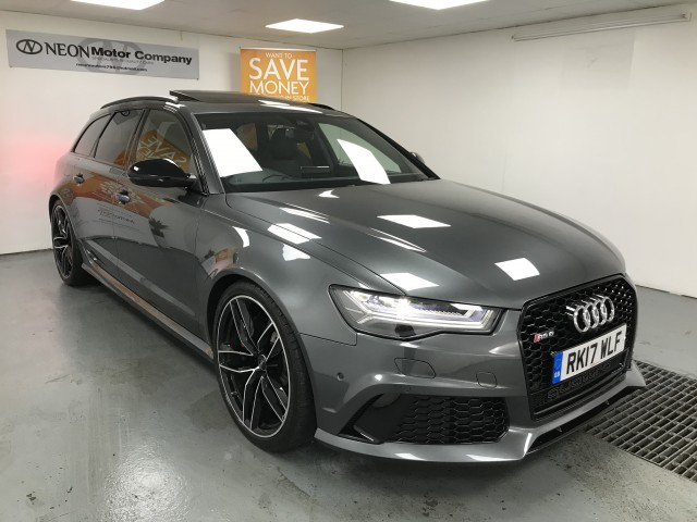 Used AUDI RS6 4.0 RS6 AVANT TFSI V8 QUATTRO 5DR AUTOMATIC in West Yorkshire