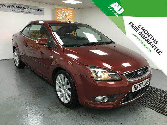 Used FORD FOCUS 2.0 CC3 2DR in West Yorkshire