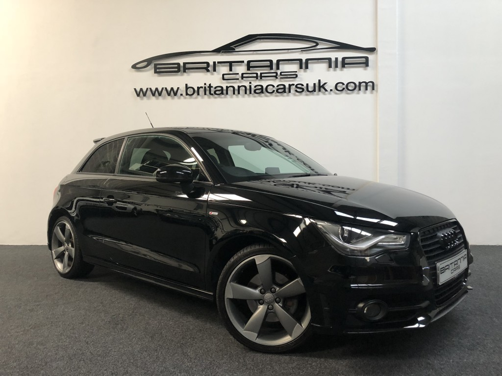 AUDI A1 2.0 TDI S LINE BLACK EDITION 3DR For Sale In