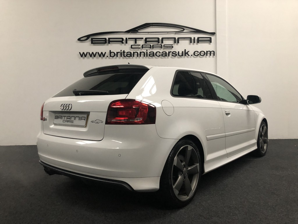 Audi A3 2 0 S3 Tfsi Quattro S Line Black Edition 3dr For